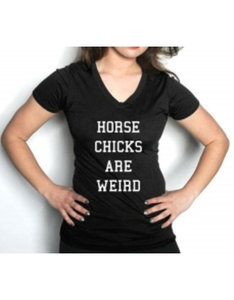 Phyllis Stein Phyllis Stein 'Horse Chicks are Weird' Tee