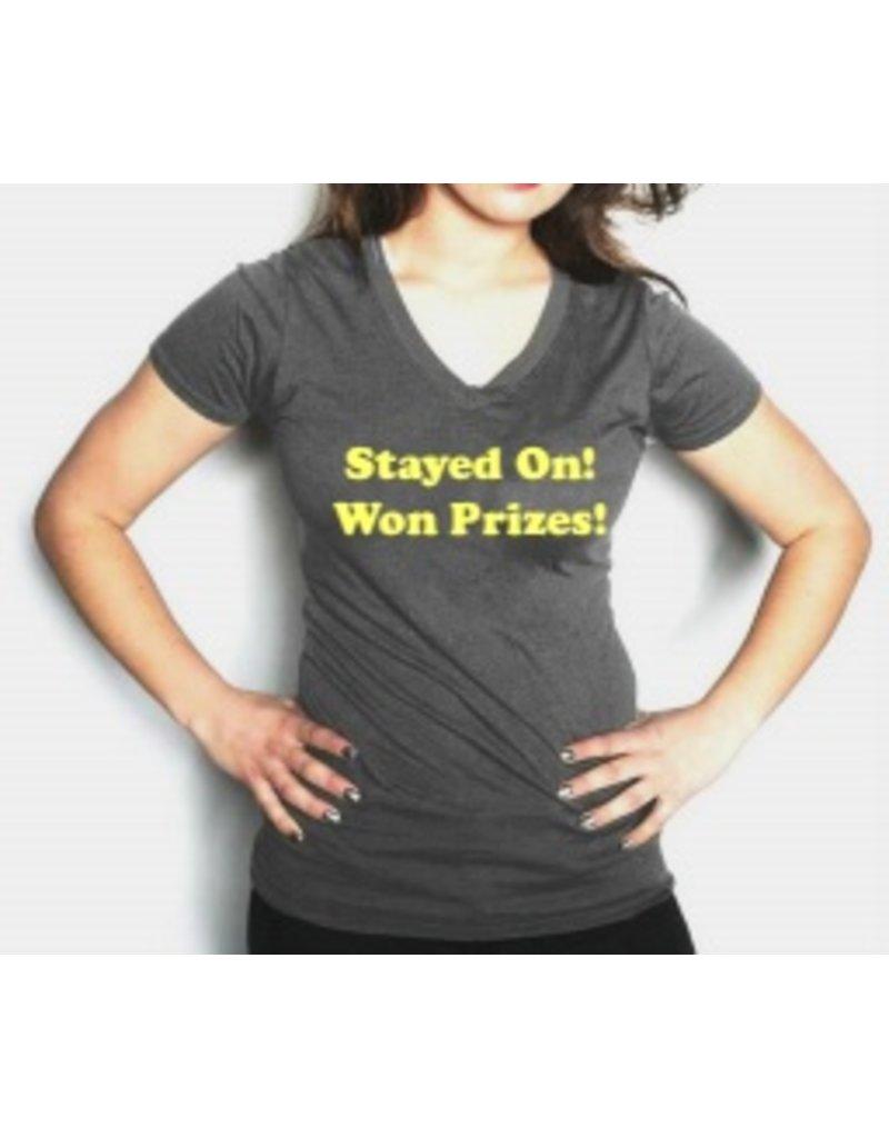 "Phyllis Stein Phyllis Stein ""Stayed On"" Tee"