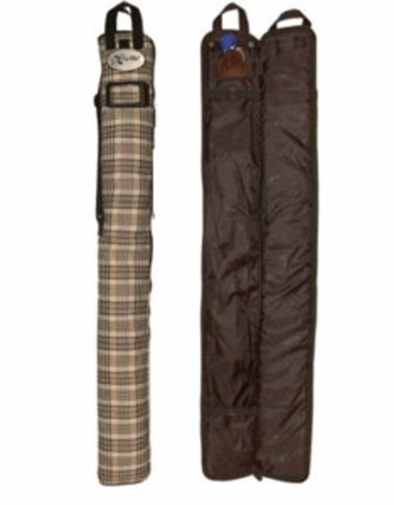 Classic Black Plaid False Tail Bag