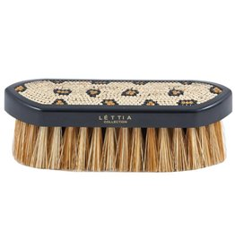 Lettia Lettia Crystal Dandy Brush Leopard