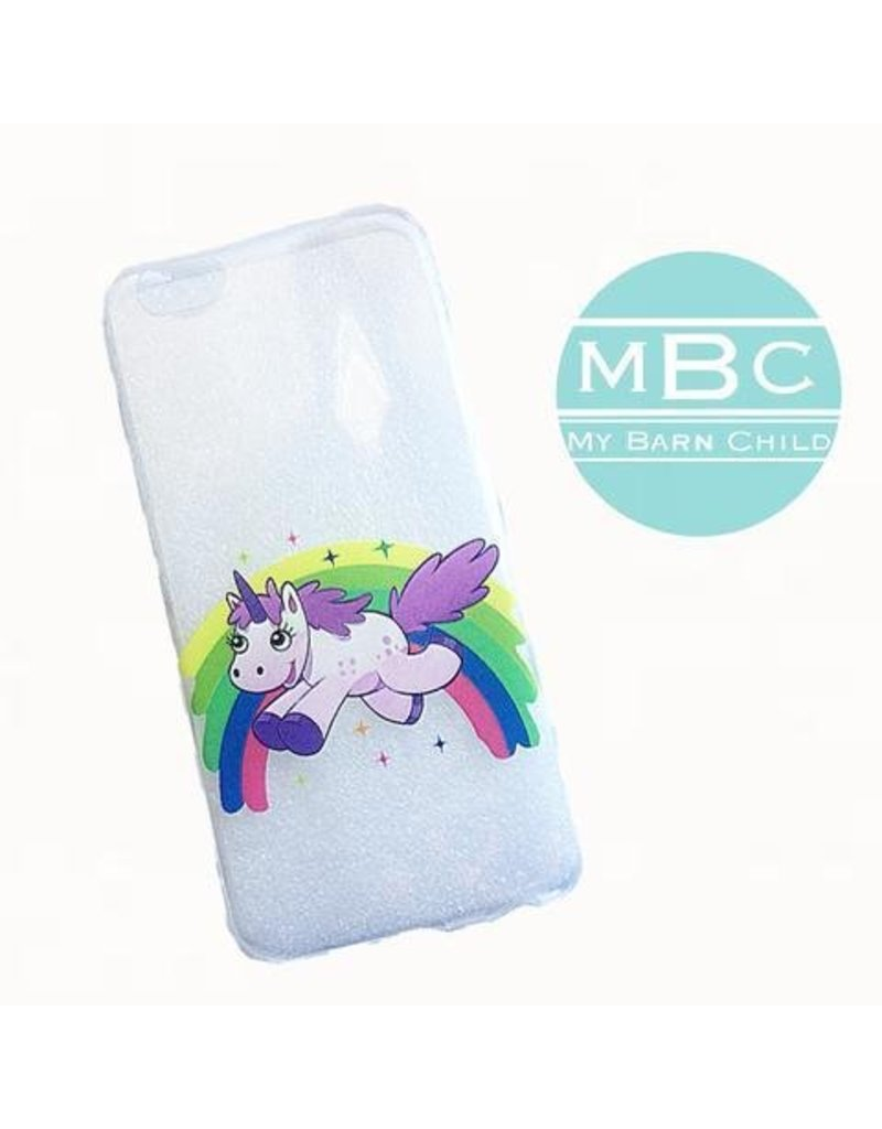 My Barn Child MBC iPhone Case Rainbow Unicorn