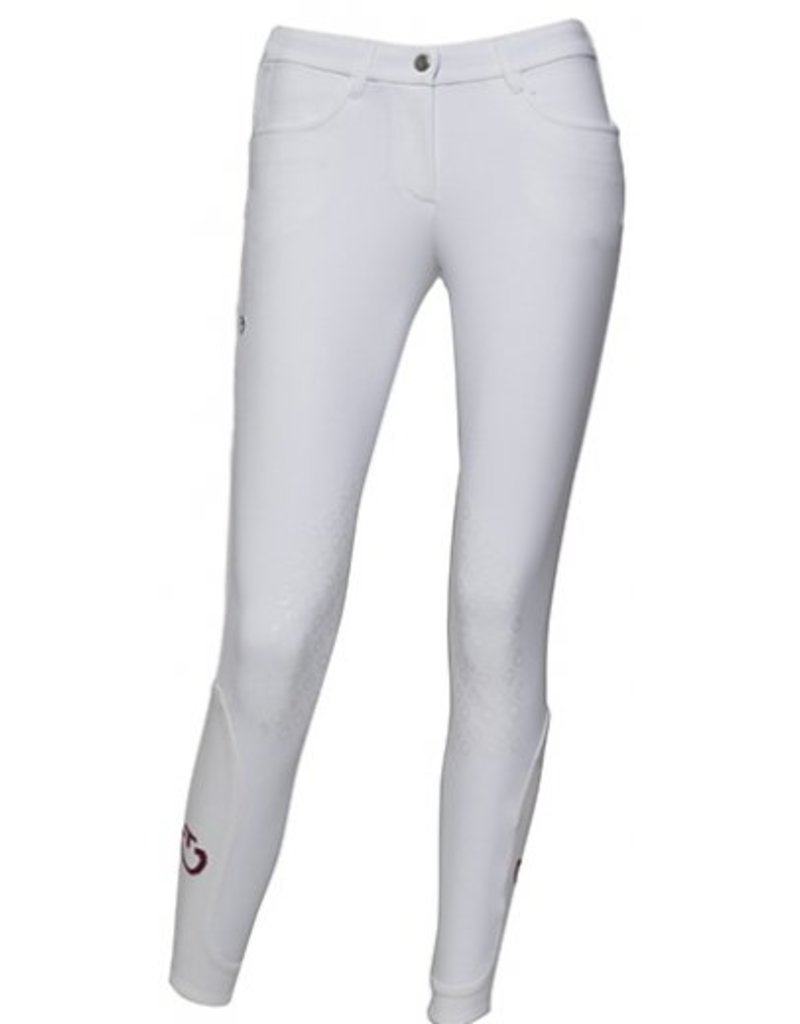 Cavalleria Toscana New Grip System Breeches White