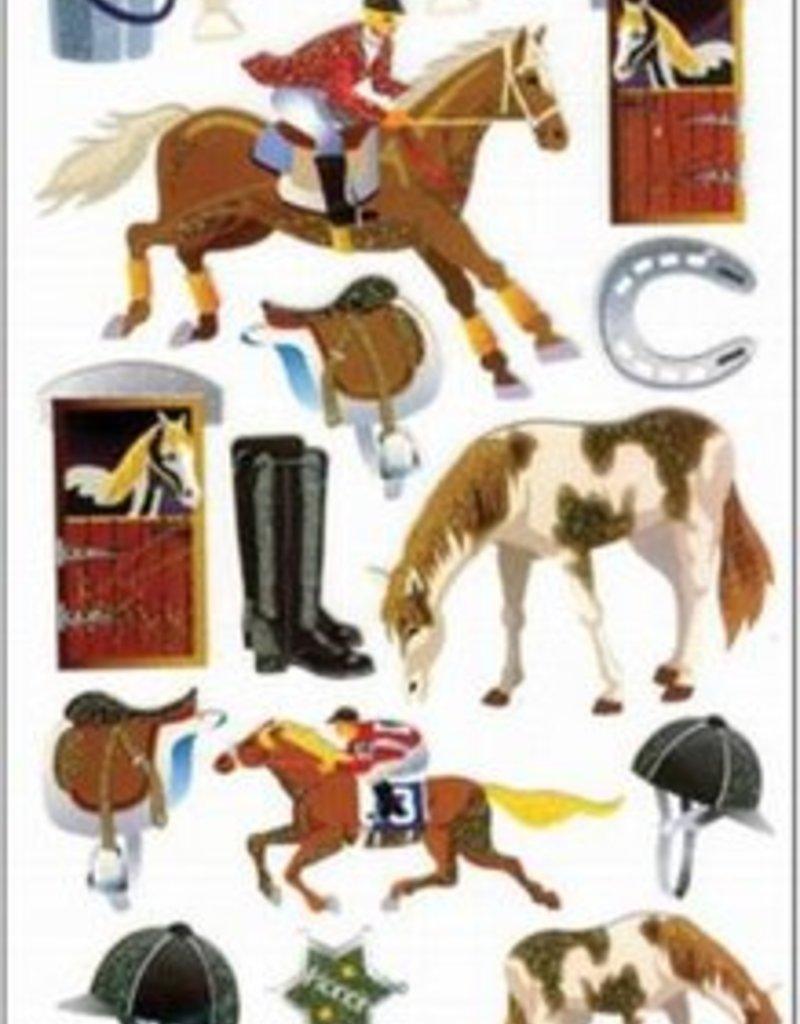 Glitter Activity Sticker Sheet
