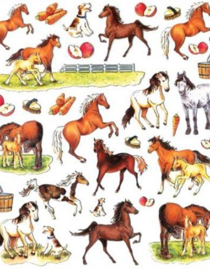 Dazzle Horse Sticker Sheet