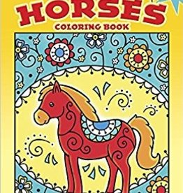 Horses Colouring Book
