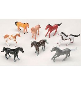 Plastic Horses Pkg of 8