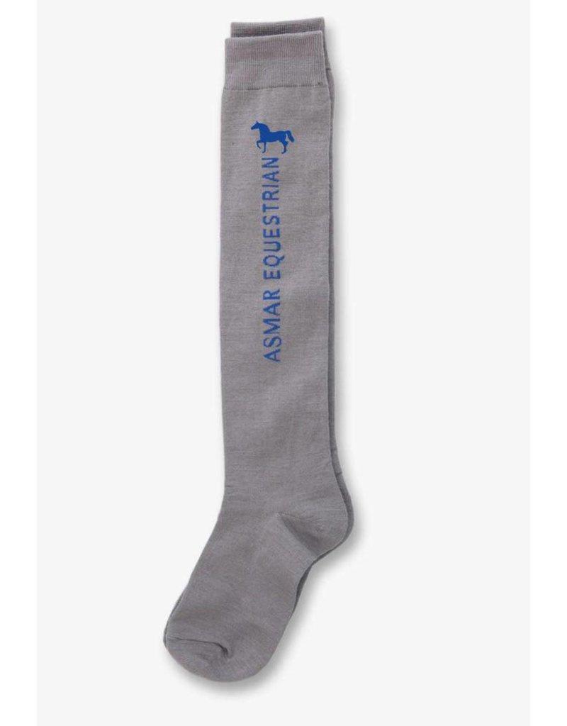 Asmar Ladies Logo Boot Socks