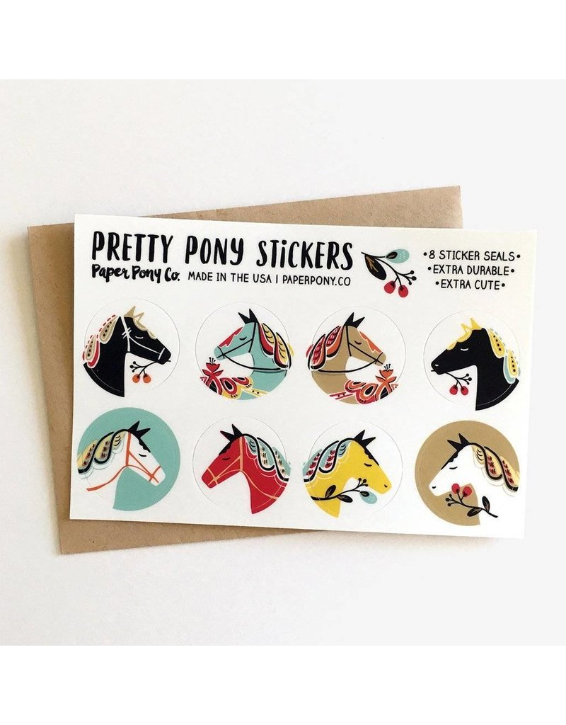 Paper Pony Co. Pretty Pony Stickers