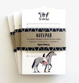 Paper Pony Co. Paper Pony Co. Pretty Pony Notepad