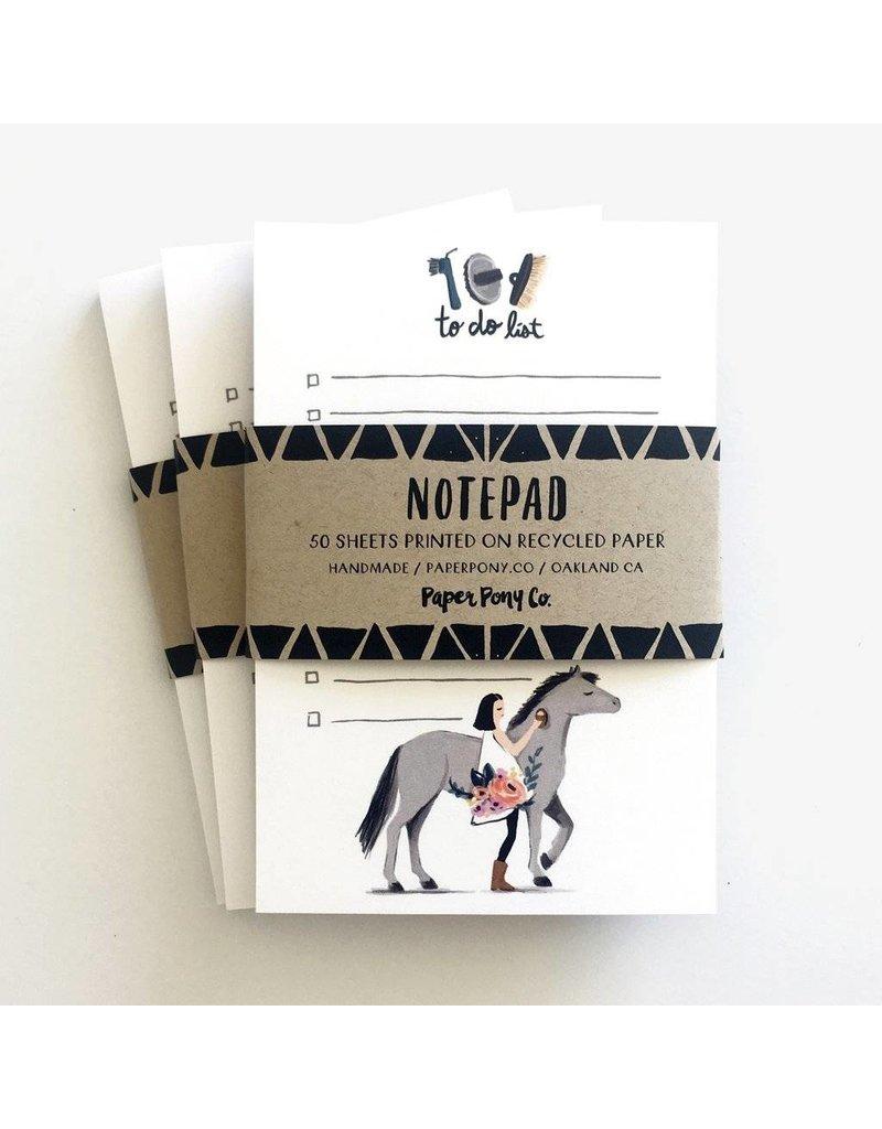Paper Pony Co. Pretty Pony Notepad