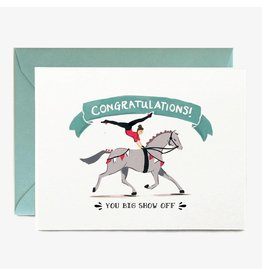 Paper Pony Co. Congrats Show Off Card