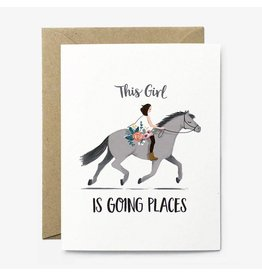 Paper Pony Co. Paper Pony Co. Going Places Pony Card