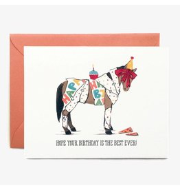Paper Pony Co. Best Ever Birthday Card