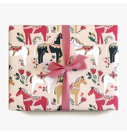 Paper Pony Co. Dala Pony Gift Wrap
