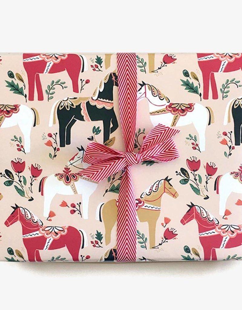 Paper Pony Co. Dala Pony Gift Wrap