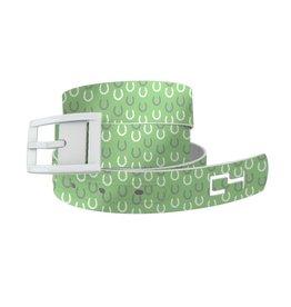 C4 Belts C4 Belt Horseshoes Green