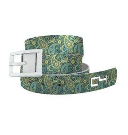 C4 Belts C4 Belt Paisley Seafoam