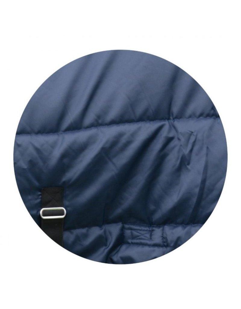420D 300G Nylon Stable Blanket Navy/Silver