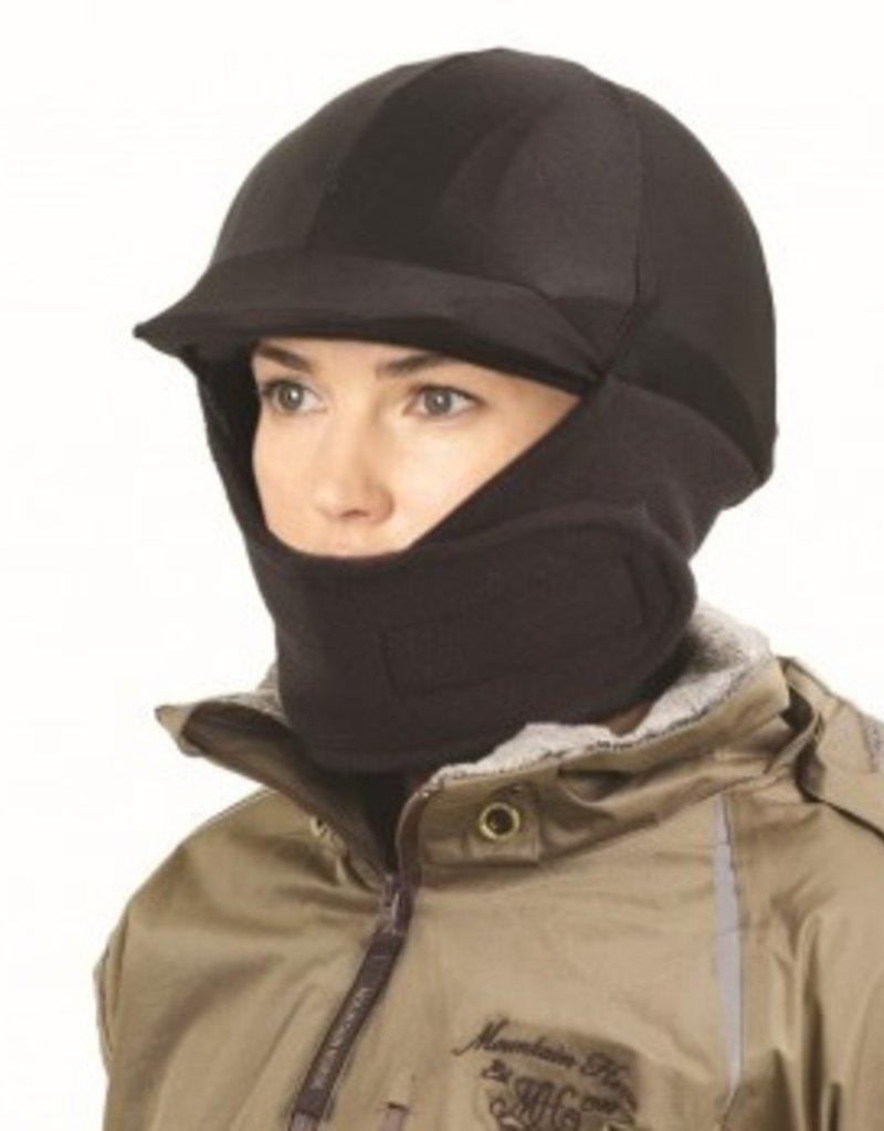 Fleece Helmet Cover Black