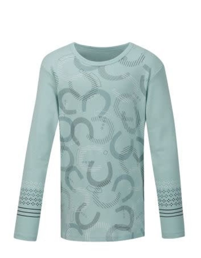 Kerrits Kids Hoof Print Long Sleeve Tee
