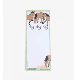 Hatley Hatley Magnetic Notepad 'Nag Nag Nag'