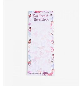 Hatley Hatley Magnetic Notepad 'You Herd it Here First' II