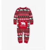 Hatley Infant Union Suit - Beary X-Mas