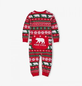 Hatley Hatley Infant Union Suit - Beary Xmas