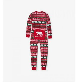 Hatley Hatley Kids Union Suit - Beary X-Mas