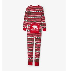 Hatley Hatley Adult Union Suits - Beary X-Mas