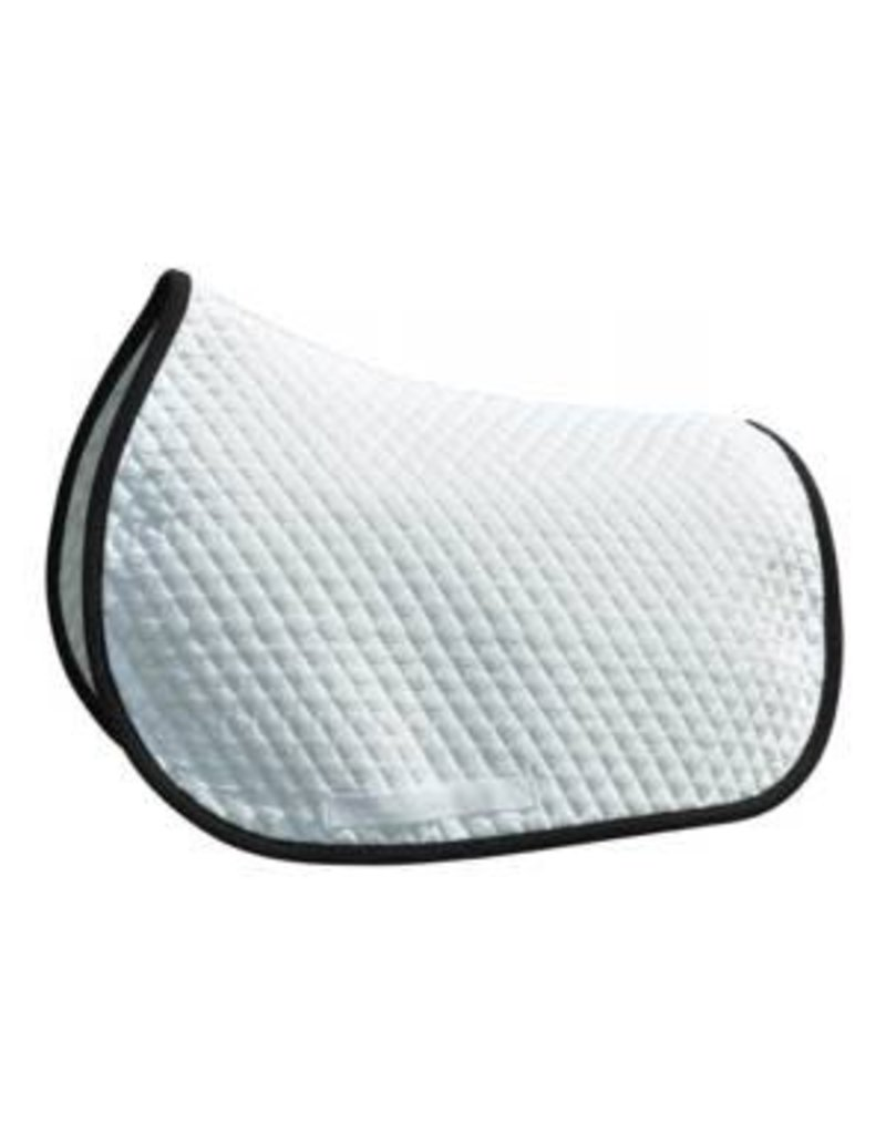 Shaped All Purpose Baby Pad White/Black