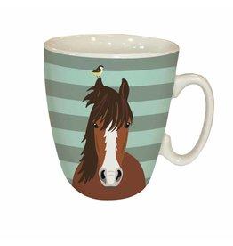 Waggy Tails Horse Mug