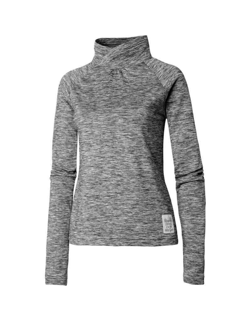 Ladies Heat Tech Polo Grey