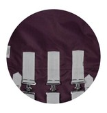 Century 1200D 200G Turnout with Belly Guard Plum/Silver
