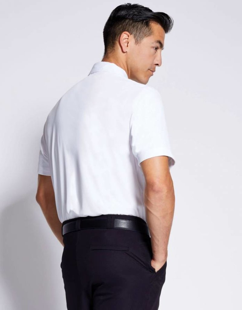 Asmar Classic Men's Show Polo White