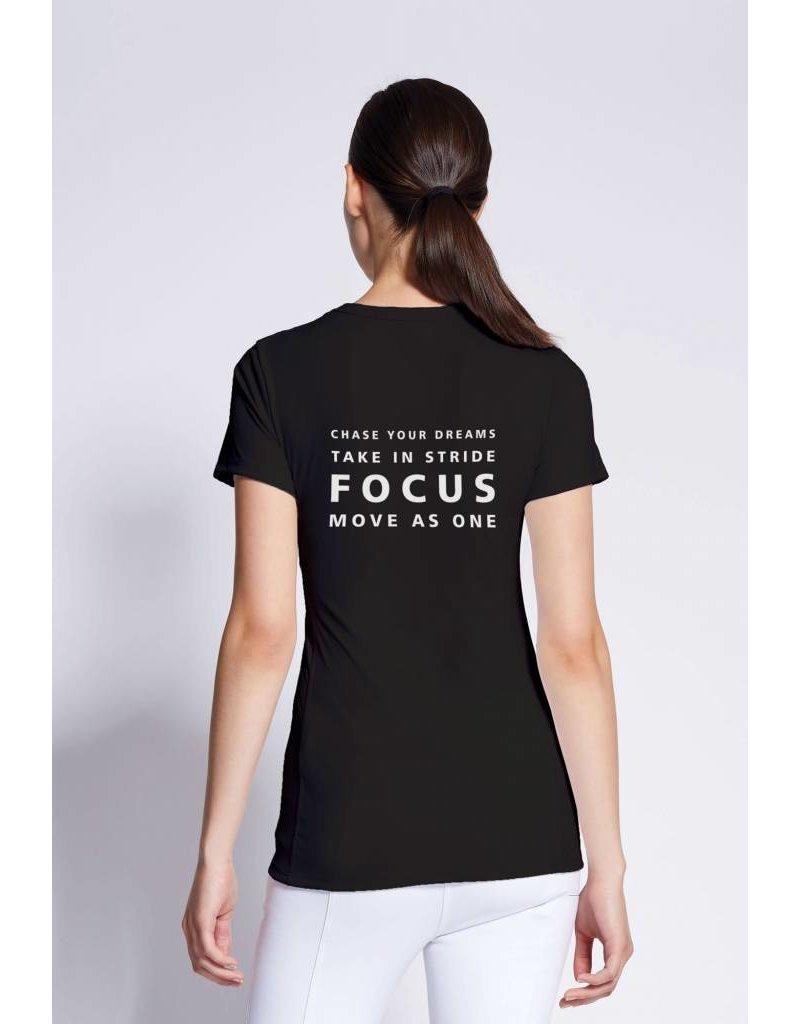Asmar Focus Tee Black