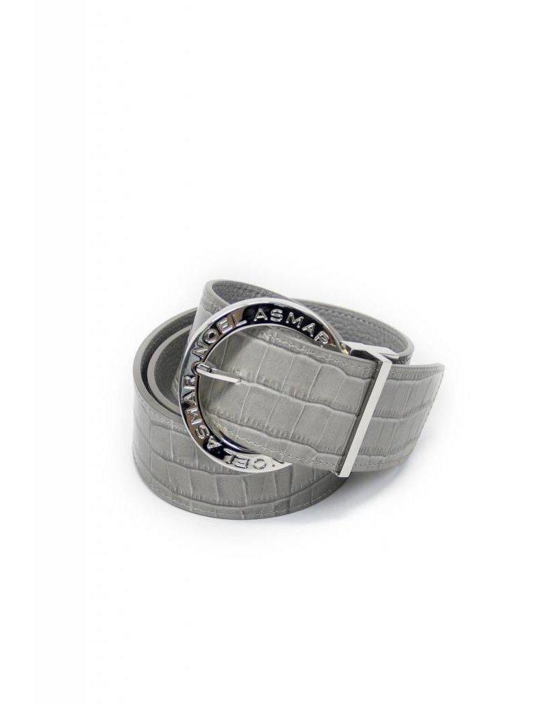 Asmar Leather Crocodile Belt (Reversible)