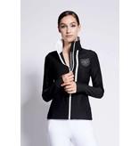 Asmar Atlas Mesh Zip Up Jacket Black