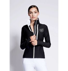 Asmar Asmar Atlas Mesh Zip Up Jacket Black