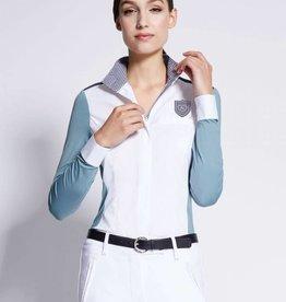 Asmar Asmar Costa Cooling Show Shirt Azure