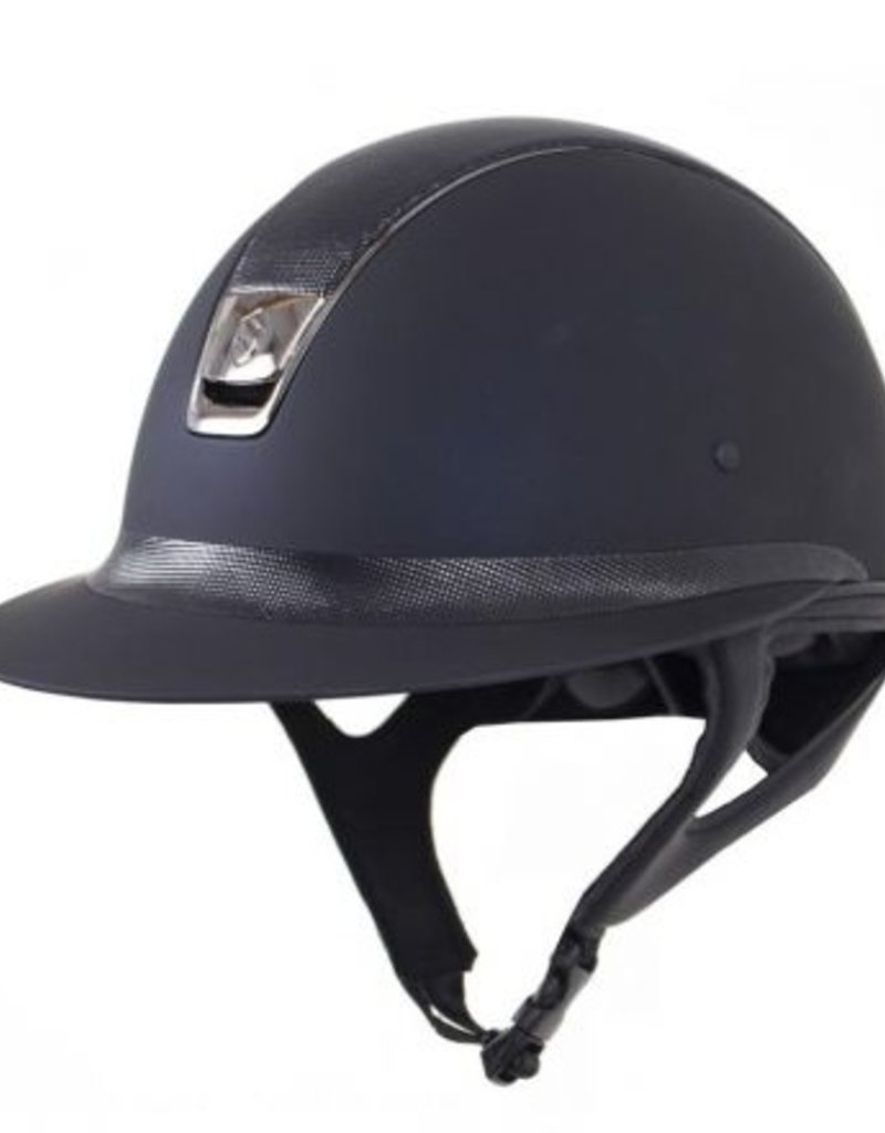 Samshield Shadowmatt Miss Shield Helmet Black Shimmer