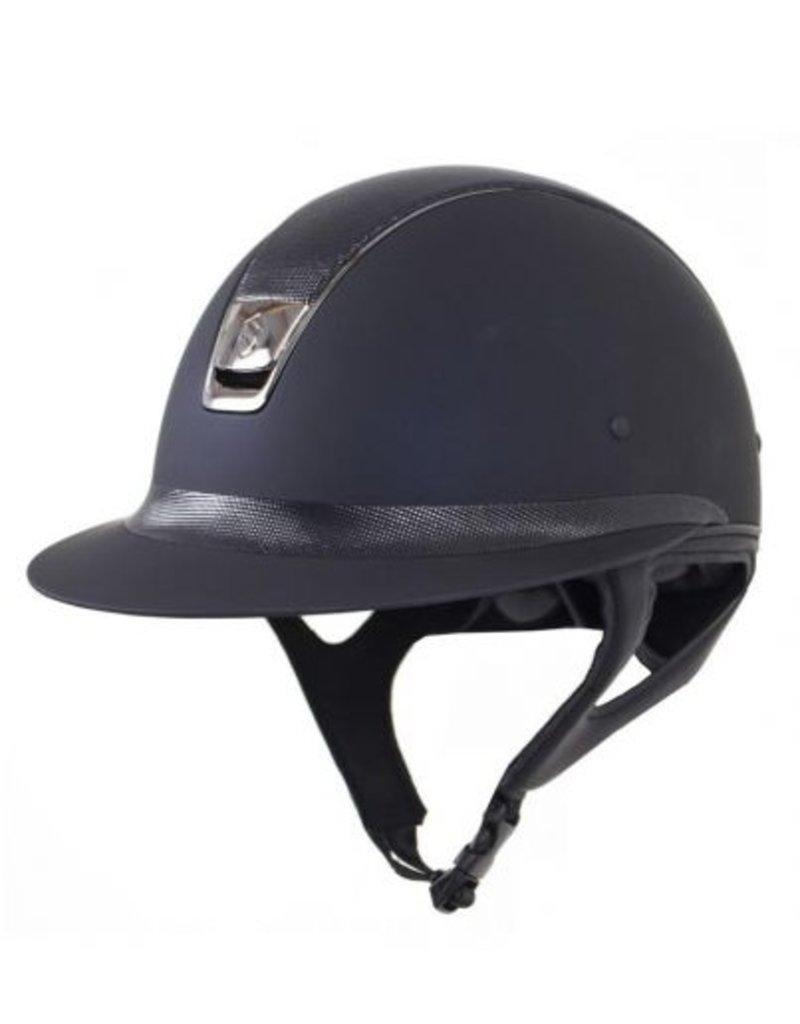 Samshield Shadowmatt Miss Shield Helmet Black Shimmer