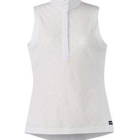 Kerrits Kerrits Show N Go Sleeveless Show Shirt White