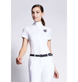 Asmar Asmar Orion Short Sleeve Show Shirt White