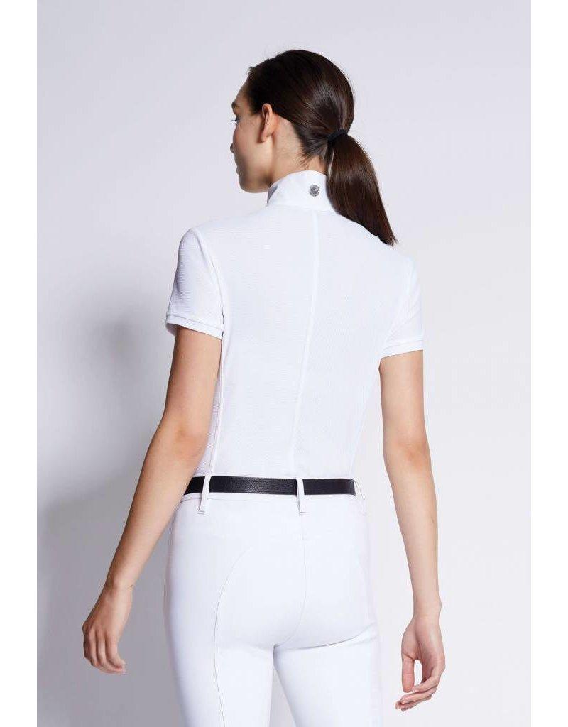 Asmar Orion Short Sleeve Show Shirt White