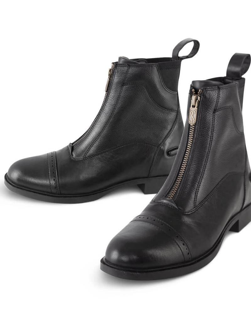 Tredstep Giotto II Front Zip Paddock Boot Black