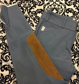 Tailored Sportsman Tailored Sportsman Lowrise Front Zip Breech Space Cadet/Tan