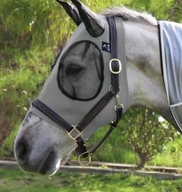 Professional's Choice Professional's Choice Comfort Fit Lycra Fly Mask Grey