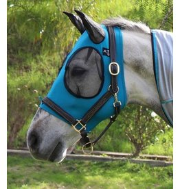 Professional's Choice Professional's Choice Comfort Fit Lycra Fly Mask Blue