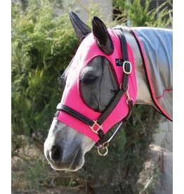 Professional's Choice Professional's Choice Comfort Fit Lycra Fly Mask Pink